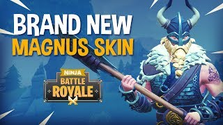 BRAND NEW Magnus Skin!!   Fortnite Battle Royale Gameplay   Ninja & KingRichard