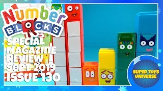 NEW NUMBERBLOCKS MAGAZINE Special Featuring 11, 12, 13, 14 15 Block Toys! Sept 2019 Issue 130