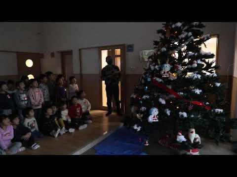 2020年度 みなみ保育園 クリスマスツリー点灯式