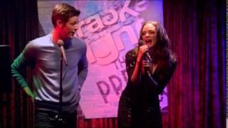 "Barry Allen Singing ""Summer Nights"" Plus Drunk Caitlin Snow (The Flash)"