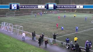 preview picture of video 'SV 98 Schwetzingen - TSV 05 Reichenbach 4:2 (0:0)'