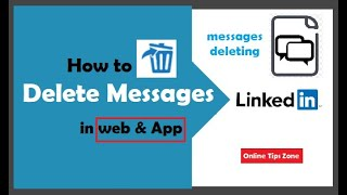 How to delete Linkedin Messages