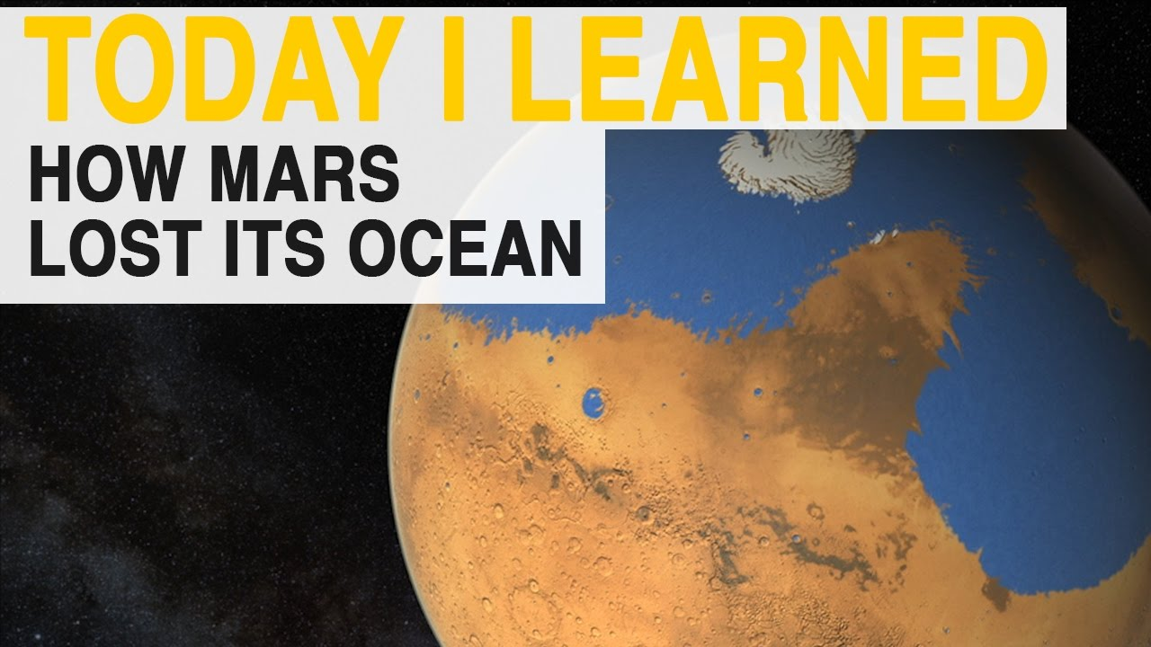 TIL: Why Mars's Ocean Disappeared | Today I Learned thumbnail