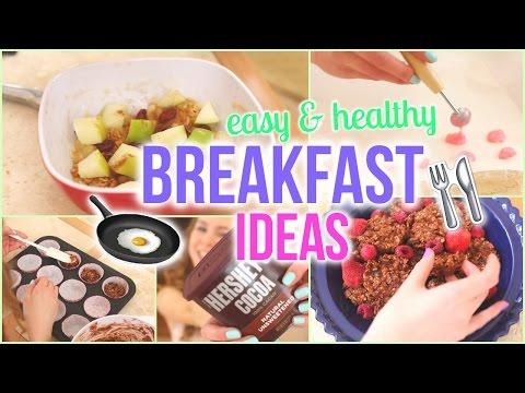 Video No-Bake Quick, Easy, & Delicious Breakfast Ideas!