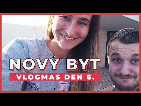 VLOGMAS DEN 6. | Nový byt! | Stěhovací vlog 1. část