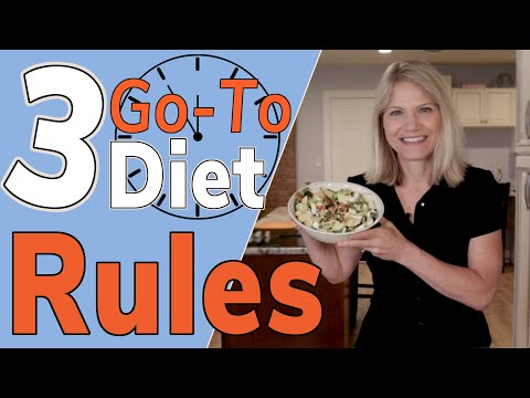 "3 ""Go-To"" Diet Rules When You Don't Know How to Diet"