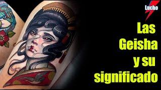 La Geisha Y Su Significado En Los Tatuajes