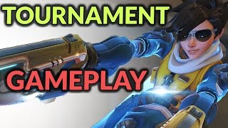 Overwatch: High-Octane KOTH Play With My TESPA Team!