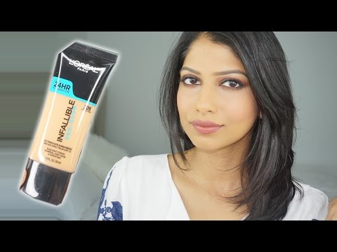 L'OREAL Infallible Pro Glow Foundation | Demo & Review