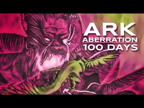 I Survived 100 Days of Hardcore ARK Aberration | Survival Evolved