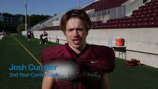 Meet Josh Cumber from the McMaster Football Team