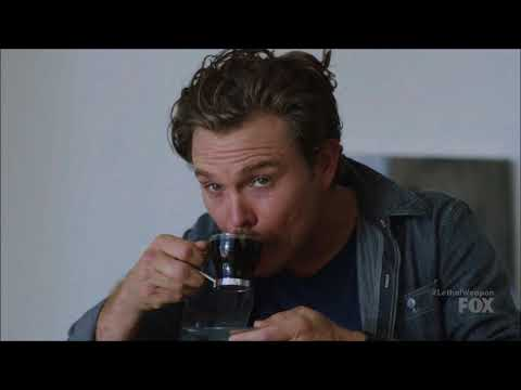 Lethal Weapon S02 Ep07 - Riggs, the master of coffee-making...