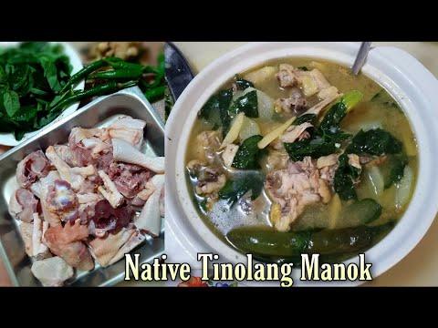 Native Tinolang Manok | ilocano cooking recipe | Masarap at napakadaling lutuin