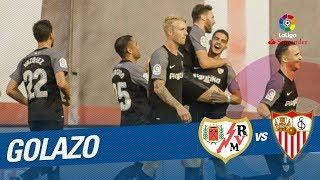 Golazo de Franco Vázquez (0-1) Rayo Vallecano vs Sevilla FC