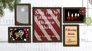Sing, All Ye Citizens of Heaven Above