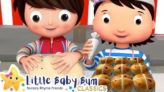 Hot Cross Buns Song + More Nursery Rhymes & Kids Songs - Little Baby Bum