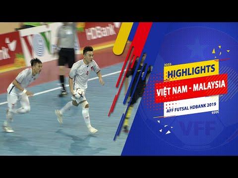 Highlights | Việt Nam - Malaysia | AFF HDBank Futsal Championship 2019
