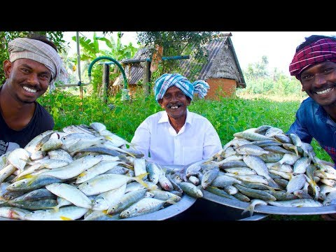 Traditional Fish Curry | Cooking Fish Recipe with Traditional Hand Ground Masala | Village Food