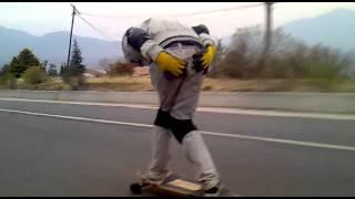 preview picture of video 'LONGBOARD TUCUMAN - TAFI DEL VALLE  02-09-12'