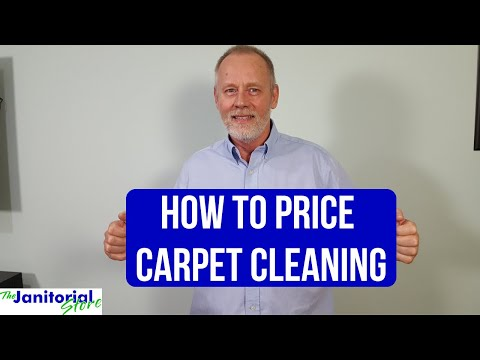 How to price carpet cleaning