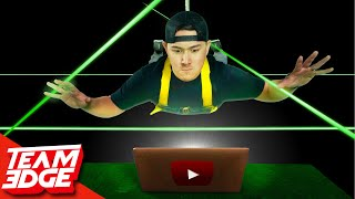 Spy Laser Challenge! | Stealing The YouTube Algorithm!!