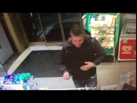Podezřelý muž zachycený kamerou na benzínové stanici , Autor: Policie ČR