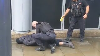 video: Manchester Arndale stabbings: Five hurt after knifeman brings terror back to heart of city