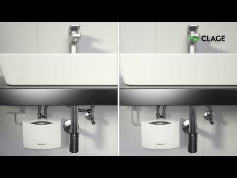 MCX – Installation und Montage des E-Kleindurchlauferhitzers (druckfest und drucklos) am Waschbecken