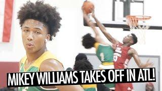 Mikey Williams OFF THE BACKBOARD! CHALLENGES DEFENDERS IN ATLANTA! + Bonus Footage!
