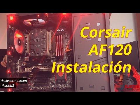 Instalando Ventiladores Corsairs Air AF120 | Gabinete NZXT H440 | SpotF5 HD