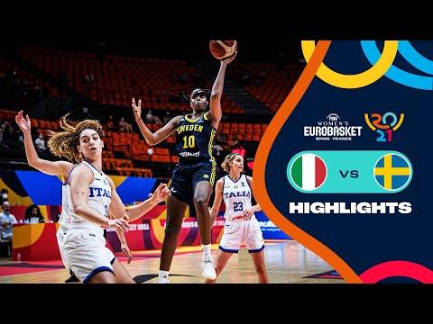 Italy Basketball Women vs Sweden Basketball Women</a> 2021-06-21
