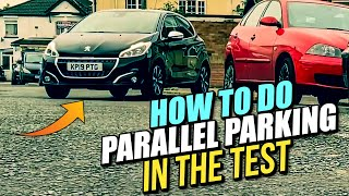 How To - PARALLEL PARK - In The Driving Test UK!