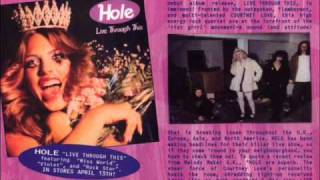 Hole - Credit in the Straight World ALBUM VERSION