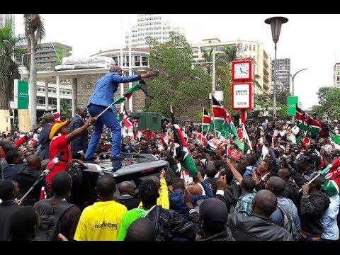 Celebrations as Supreme Court upholds Uhuru Kenyatta's election