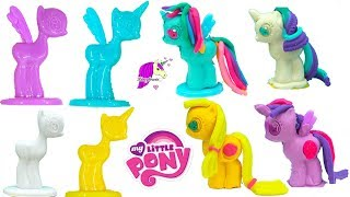 Play Doh My Little Pony MLP Horse Maker Mold - Play-doh Rainbow Dash, Princess Twilight