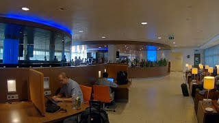 KLM Crown Lounge 52 (Intercontinental), Amsterdam