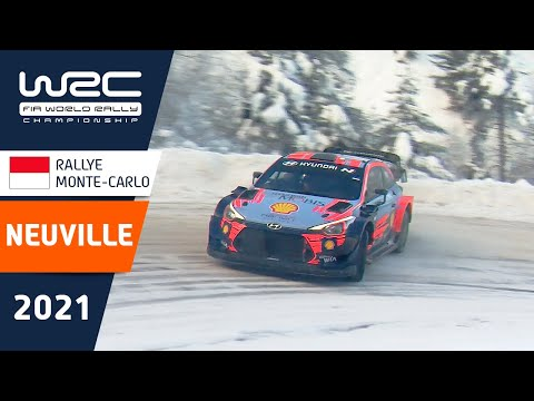 WRC(世界ラリー選手権)2021年ヒュンダイのヌービルのプレビュー走行動画