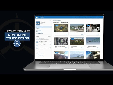 What's new in Sporty's 2021 Learn to Fly Course - YouTube