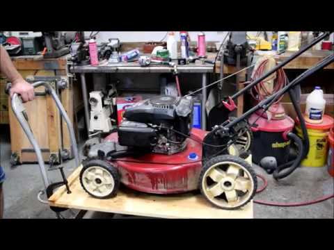 Oil in the Air Box - Fixing a Kohler 149cc Lawn Mower Engine PCV Oil Drain