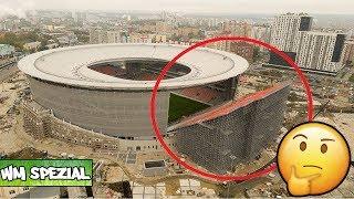 Verrücktes Stadion bei der WM 2018: Hier sitzen die Fans draußen | Jekaterinburg (Stadion 2/12)