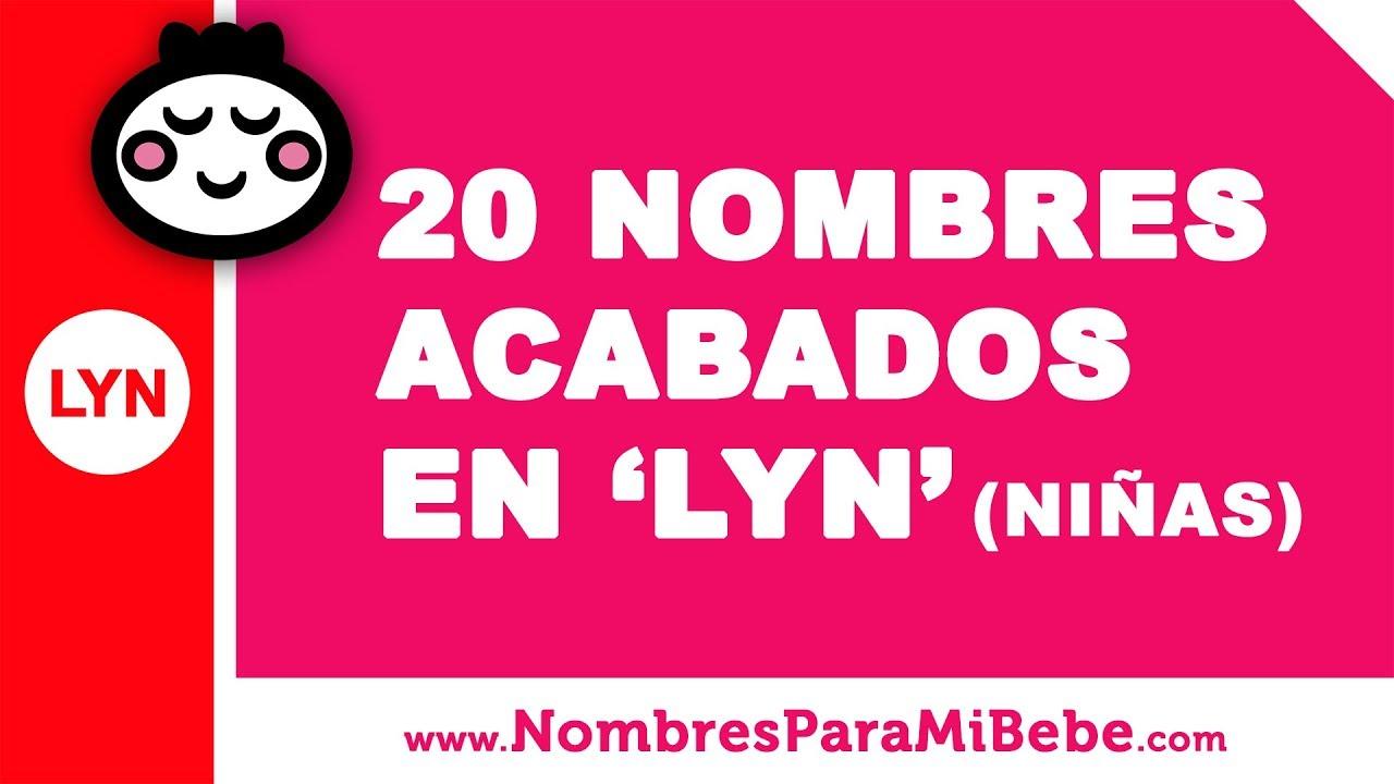 20 nombres para niñas terminados en LYN - los mejores nombres de bebé - www.nombresparamibebe.com