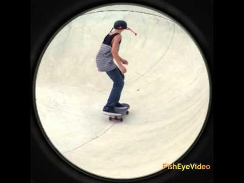 •Blake Mears• Carving Bowl At Metro Skatepark in Pflugerville Texas!!