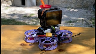 Diatone hey Tina: Mini drone Cinewhoop alza una Gopro intera senza problemi
