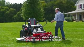 Toro TimeCutter HD Zero Turn Mower (l'Italia)