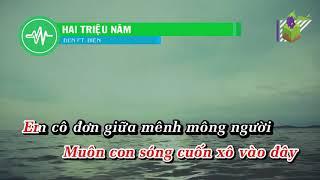 [Karaoke] Hai triệu năm - Đen (beat chuẩn)