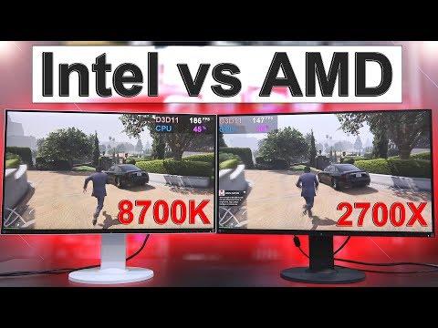 Intel vs AMD 2018 — Side by Side Comparison