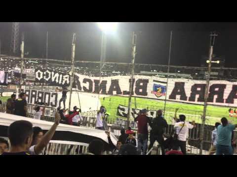 """""""Salida COLO-COLO VS santa fe 2015"""" Barra: Garra Blanca • Club: Colo-Colo"""