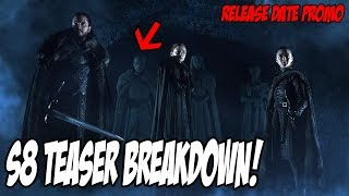 Game Of Thrones Season 8 TRAILER! Crypts Of Winterfell EXPLAINED