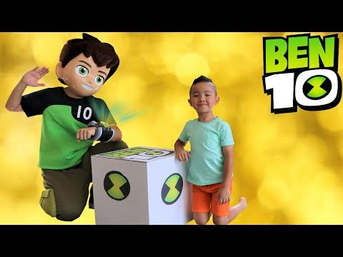 Download NEW BEN 10 Toys Collection Delivered By Ben 10 Himself To Ckn Toys HD Mp4 3GP Video and MP3