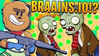 BIGGEST ZOMBIE EVER BRAAINS.IO - BRAAINS.IO BIGGEST SURVIVOR